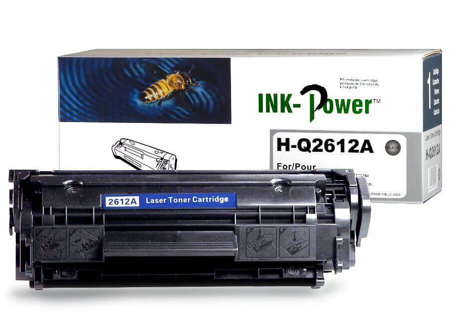 Kompatibilní toner HP Q2612A, 12A pro laserové tiskárny HP