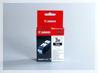 Originální inkoustová cartridge Canon 3eBk, BCI-3eBk pro inkoustové tiskárny Canon