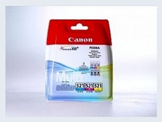 Originální inkoustová cartridge Canon 521, CLI 521 Multipack pro inkoustové tiskárny Canon