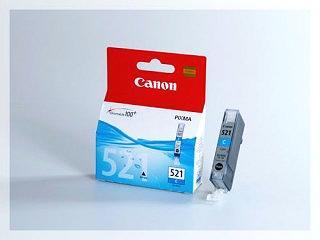 Originální inkoustová cartridge Canon 521C, CLI-521C pro inkoustové tiskárny Canon