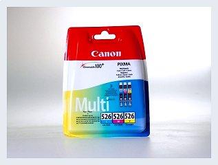 Originální inkoustová cartridge Canon 526, CLI 526 Multipack pro inkoustové tiskárny Canon