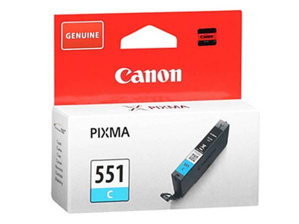 Originální inkoustová cartridge Canon 551C, CLI-551C pro inkoustové  tiskárny Canon