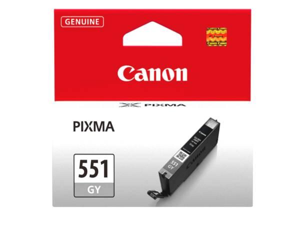 Originální inkoustová cartridge Canon 551GY, CLI-551GY XL pro inkoustové tiskárny Canon