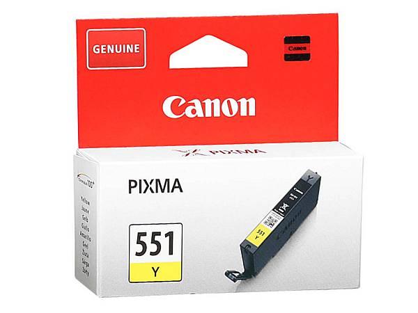 Originální inkoustová cartridge Canon 551Y, CLI-551Y pro inkoustové tiskárny Canon