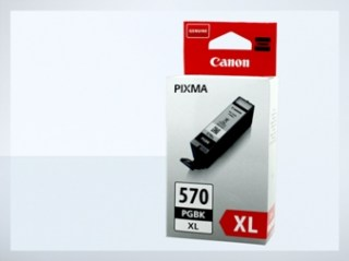 Originální inkoustová cartridge Canon 570XL, PGI-570XL PGBK  pro inkoustové tiskárny Canon