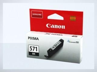 Originální inkoustová cartridge Canon 571Bk, CLI-571Bk pro inkoustové tiskárny Canon