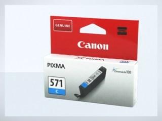 Originální inkoustová cartridge Canon 571C, CLI-571C pro inkoustové tiskárny Canon
