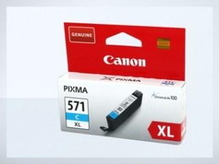 Originální inkoustová cartridge Canon 571C, CLI-571C XL pro inkoustové  tiskárny Canon