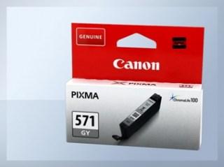 Originální inkoustová cartridge Canon 571GY, CLI-571GY pro inkoustové tiskárny Canon