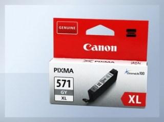 Originální inkoustová cartridge Canon 571GY, CLI-571GY XL pro inkoustové tiskárny Canon