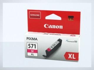 Originální inkoustová cartridge Canon 571M, CLI-571M XL pro inkoustové tiskárny Canon