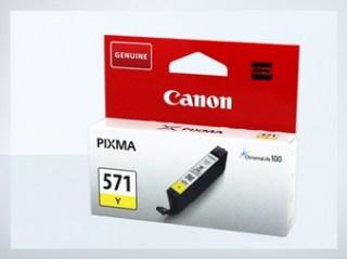 Originální inkoustová cartridge Canon 571Y, CLI-571Y pro inkoustové tiskárny Canon