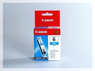 Originální inkoustová cartridge Canon 6C, BCI-6C pro inkoustové tiskárny Canon