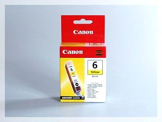 Originální inkoustová cartridge Canon 6Y, BCI-6Y pro inkoustové tiskárny Canon
