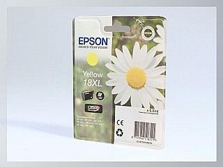 Originální inkoustová cartridge Epson T18XL, T1814 pro inkoustové tiskárny Epson
