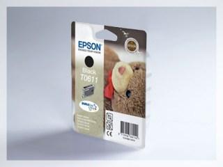 Originální inkoustová cartridge Epson T0611 pro inkoustové tiskárny Epson