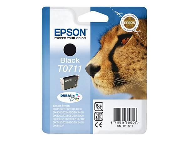 Originální inkoustová cartridge Epson T0711 pro inkoustové tiskárny Epson