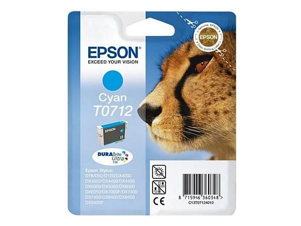 Originální inkoustová cartridge Epson T0712 pro inkoustové tiskárny Epson