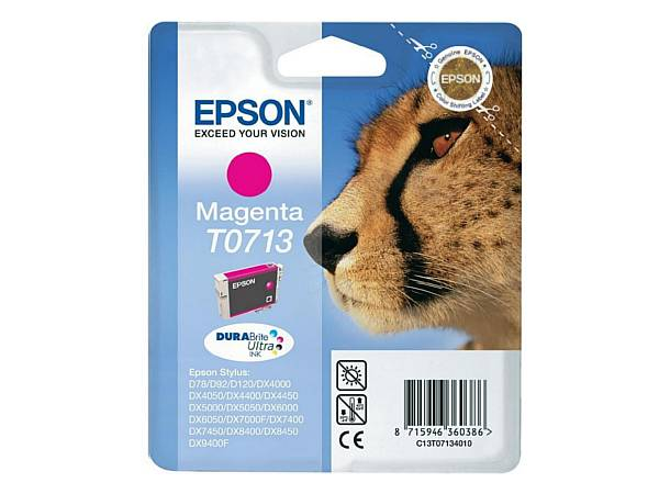 Originální inkoustová cartridge Epson T0713 pro inkoustové tiskárny Epson