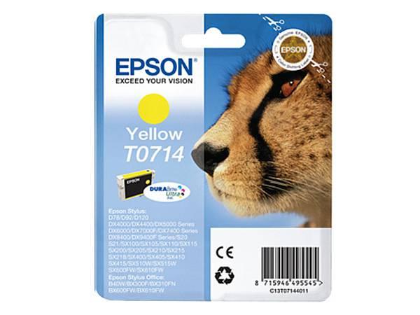 Originální inkoustová cartridge Epson T0714 pro inkoustové tiskárny Epson