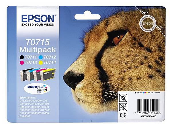 Originální inkoustová cartridge Epson T0715 pro inkoustové tiskárny Epson