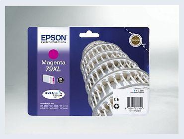 Originální inkoustová cartridge Epson T79XL, T7903XL pro inkoustové tiskárny Epson
