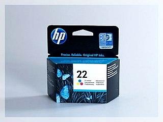 Originální inkoustová cartridge HP 22, C9352AE pro inkoustové tiskárny HP