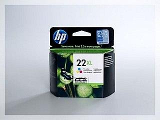 Originální inkoustová cartridge HP 22XL, C9352CE pro inkoustové tiskárny HP