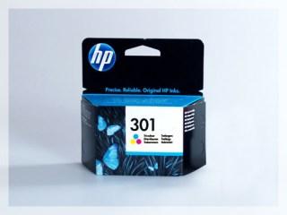 Originální inkoustová cartridge HP 301, CH562EE pro inkoustové tiskárny HP