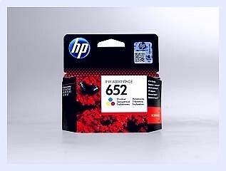 Originální inkoustová cartridge HP 652, F6V24AE pro inkoustové tiskárny HP