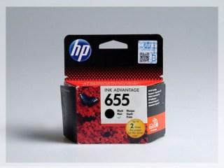 Originální inkoustová cartridge HP 655, CZ109AE pro inkoustové tiskárny HP