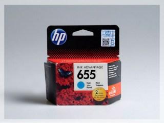Originální inkoustová cartridge HP 655, CZ110AE pro inkoustové tiskárny HP
