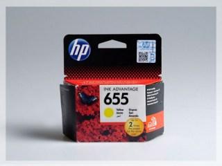 Originální inkoustová cartridge HP 655, CZ112AE pro inkoustové tiskárny HP