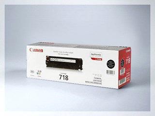 Originální toner Canon CRG-718Bk pro laserové tiskárny Canon