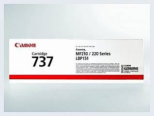 Originální toner Canon CRG-737 pro laserové tiskárny Canon