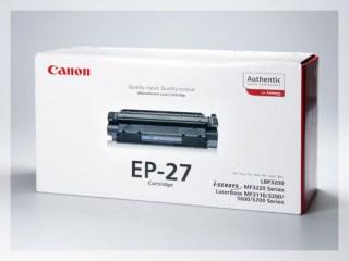 Originální toner Canon EP-27 pro laserové tiskárny Canon