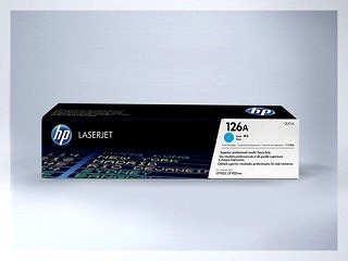 Originální toner HP 126A, CE311C pro laserové tiskárny HP