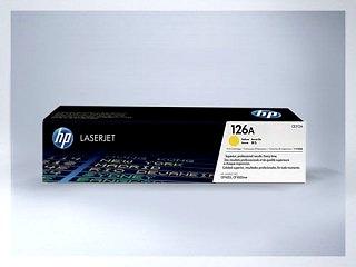 Originální toner HP 126A, CE312Y pro laserové tiskárny HP