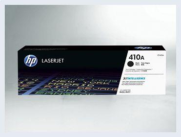 Originální toner HP 410A, CF410A pro laserové tiskárny HP