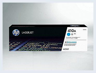 Originální toner HP 410A, CF411A pro laserové tiskárny HP