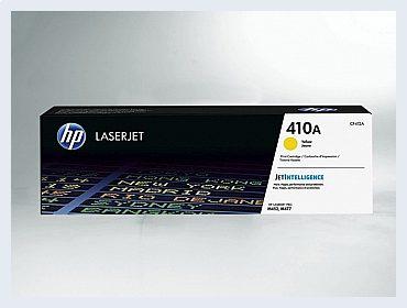 Originální toner HP 410A, CF412A pro laserové tiskárny HP