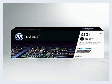 Originální toner HP 410X, CF410X pro laserové tiskárny HP