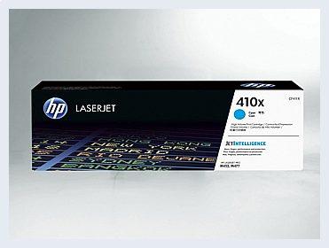 Originální toner HP 410X, CF411X pro laserové tiskárny HP
