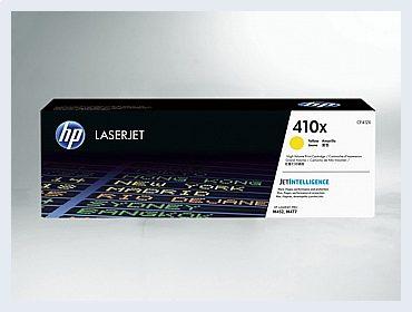 Originální toner HP 410X, CF412X pro laserové tiskárny HP