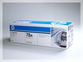 Originální toner HP CE278A, 78A pro laserové tiskárny HP