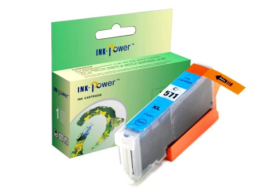Kompatibilní inkoustová cartridge Canon CLI-571C XL pro inkoustové tiskárny Canon