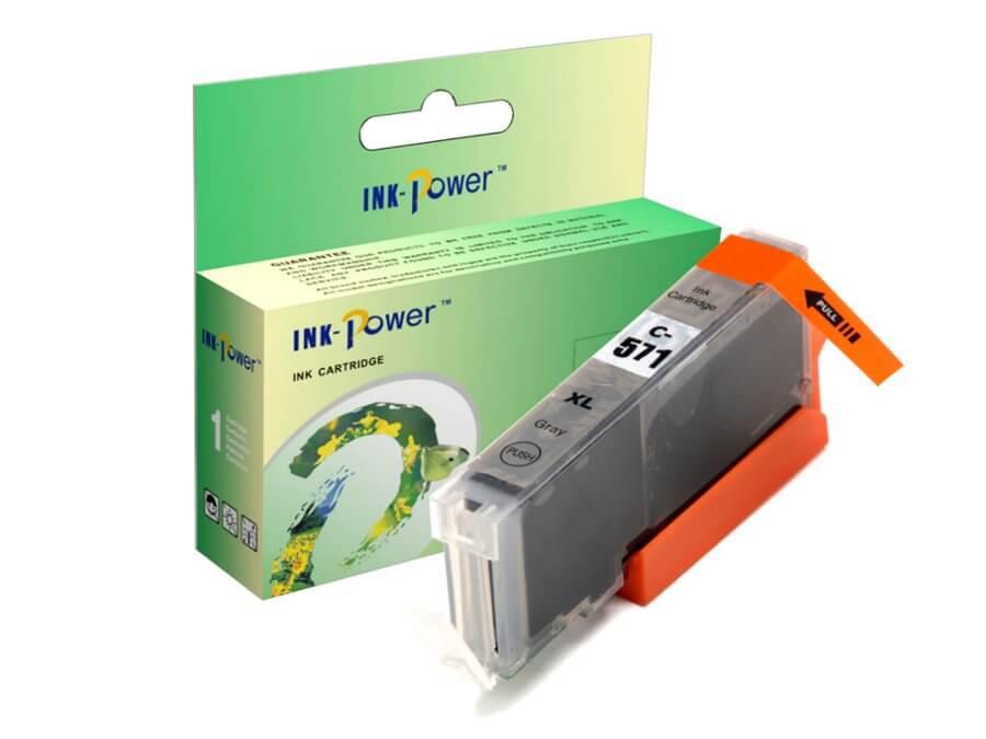 Kompatibilní inkoustová cartridge Canon CLI-571GY XL pro inkoustové tiskárny Canon